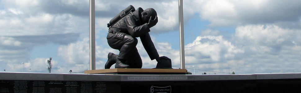 Firefighter Memorial in Kingdom City