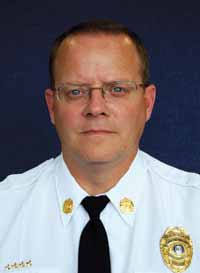 Greg Carrell,  Assistant Fire Marshal