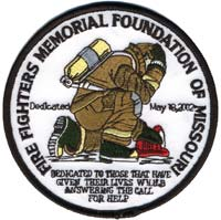 Firefighters Memorial Patch