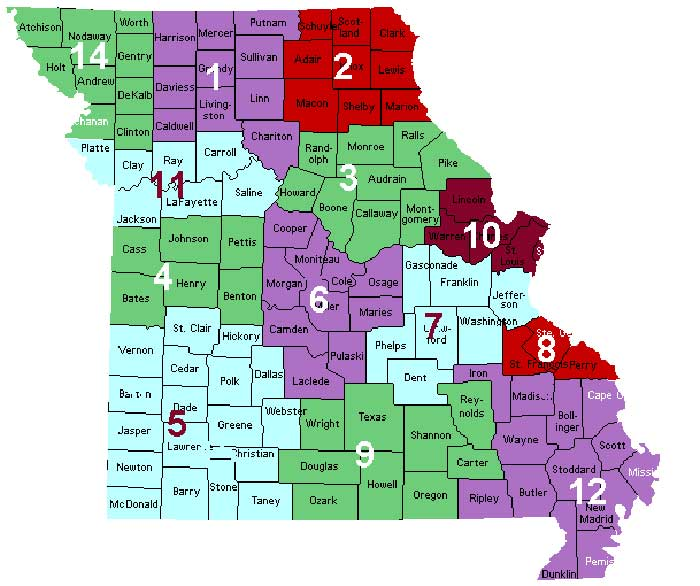 Missouri districts