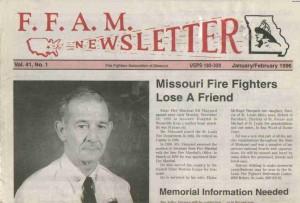 Newsletter from 1996