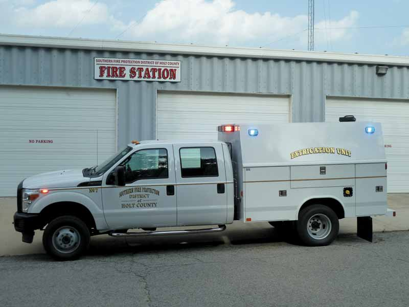 Southern Fpd Holt County Gets New Apparatus F F A M