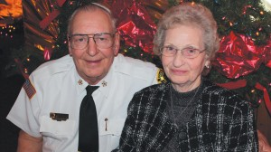 Dexter Fire Chief Al Banken with his wife Betty.