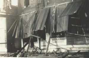 DRUG STORE FIRE IN O'FALLON IN THE WINTER OF 1942