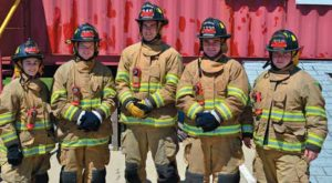 Warrensburg FD Graduates