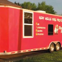 FIRE PREVENTION EDUCATION TRAILER LOOKING FOR A GOOD HOME